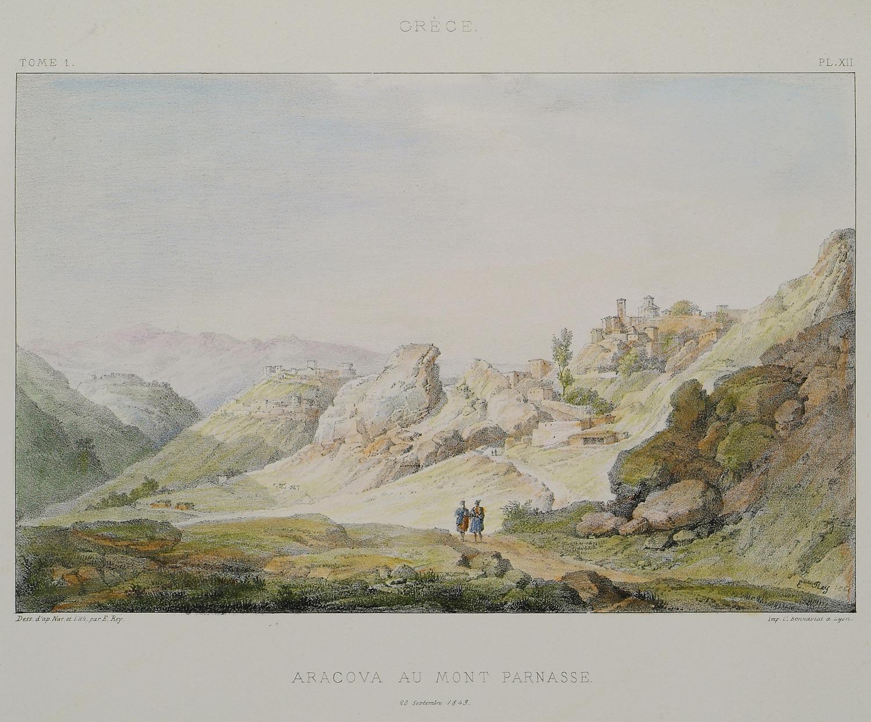 γκραβουρα αραχωβας 1843