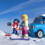 Two Playmobil in mount Parnassos